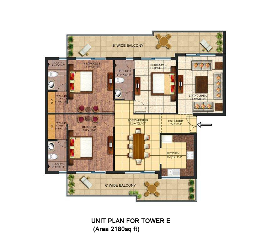 Unit-Plan-Palm-Village