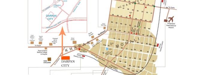 Darpan-City-Site-Location