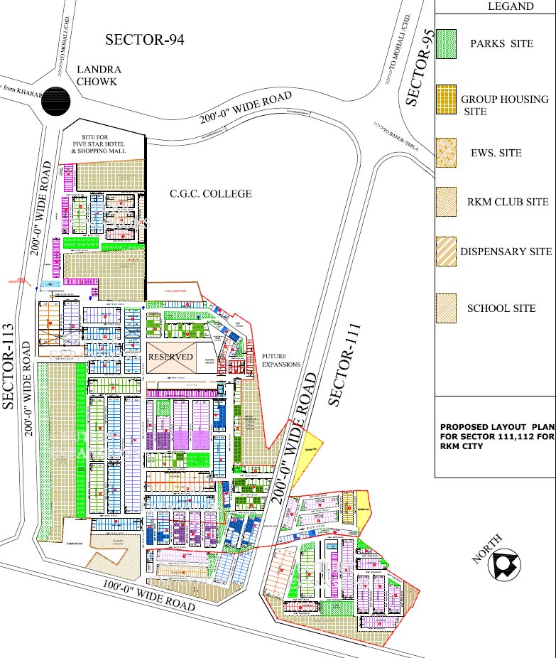 RKM-City-site-plan