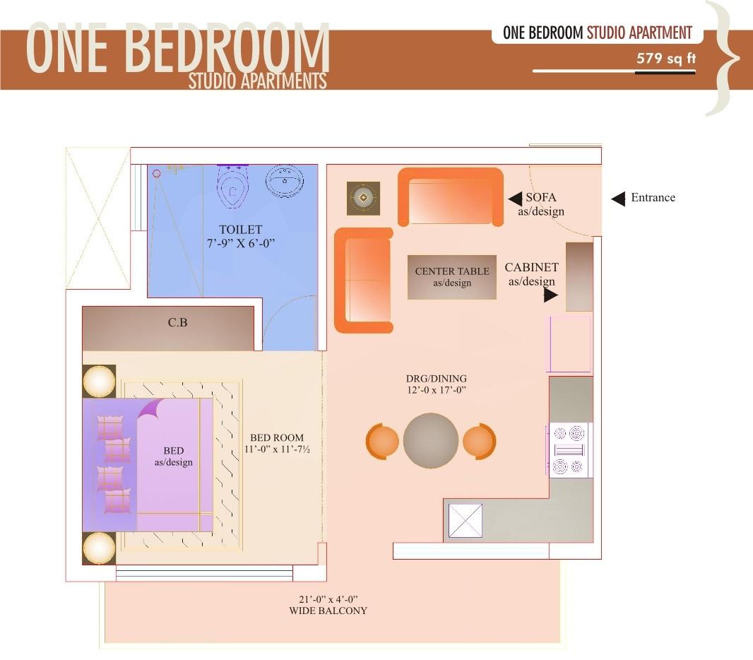 gbm-1-579-Studio Apartment