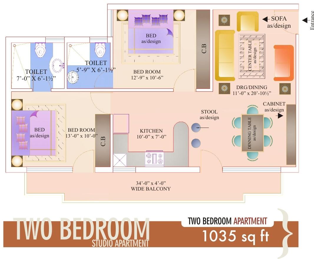 gbm-2-1035-Studio-Apartment