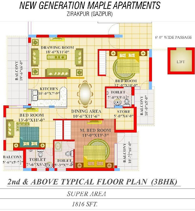 Maple-Apartments-3BHK-1