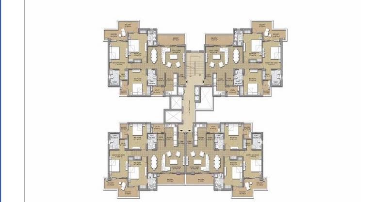 3 bhk cluster plan 2