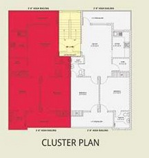 cluster 2 bhk