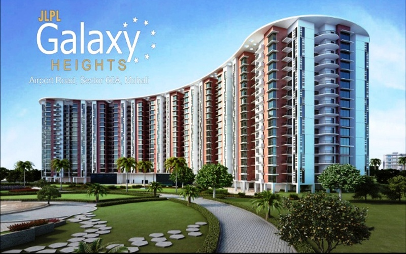 JLPL Galaxy Heights Mohali |3Bhk Ready To Move Flats at Airport Road Sector 66 Mohali  Call - 9815160459, 9988348484