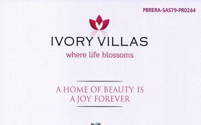 Ivory Villas Zirakpur - Call - 9290000454, 9290000458 I 3 BHK Ready To Move Flats at VIP Road Zirakpur