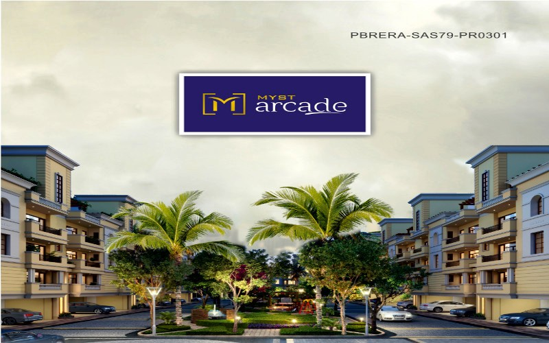 Myst Arcade Zirakpur - Call - 9815160459, 9988348484|3 Bhk Ready To Move Flats at Patiala Road Zirakpur