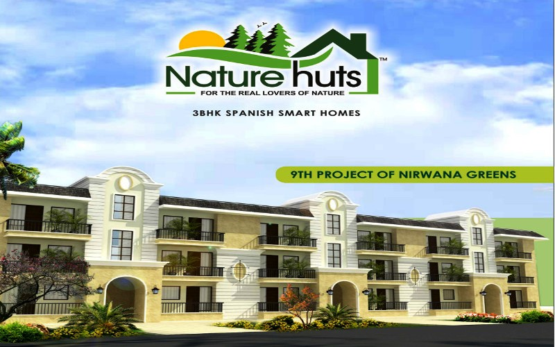 Nature Hut Kharar – Call Us – 9815160459,9988348484 | 3 BHK Spanish Homes in Nirwana Greens Nature Hut Kharar