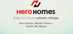 Hero Homes Mohali: 9815160459 2Bhk, 3Bhk, 3+1Bhk Apartments Mohali